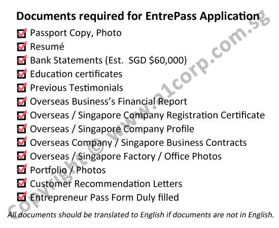 Entrepreneur Pass Singapore