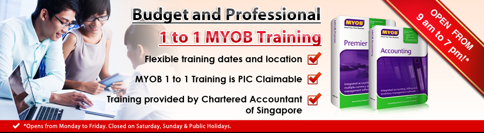 Budget and Professional 1 to 1 Myob Training