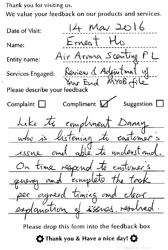 A1Corp-Testimonial-Air Aroma Scenting Pte Ltd