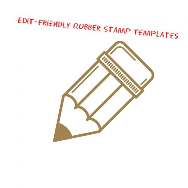 5 edit friendly rubber stamp templates to download a1
