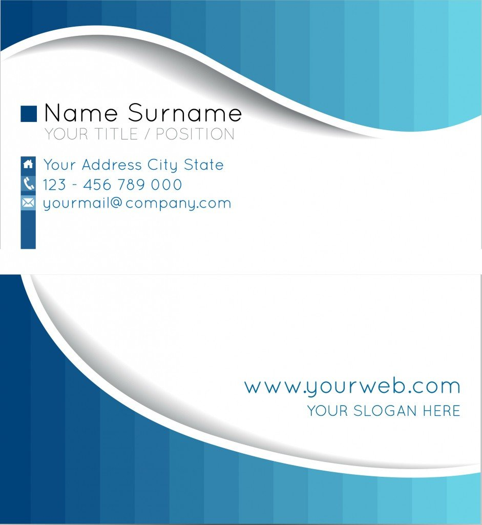 Name Card Design Layout Production