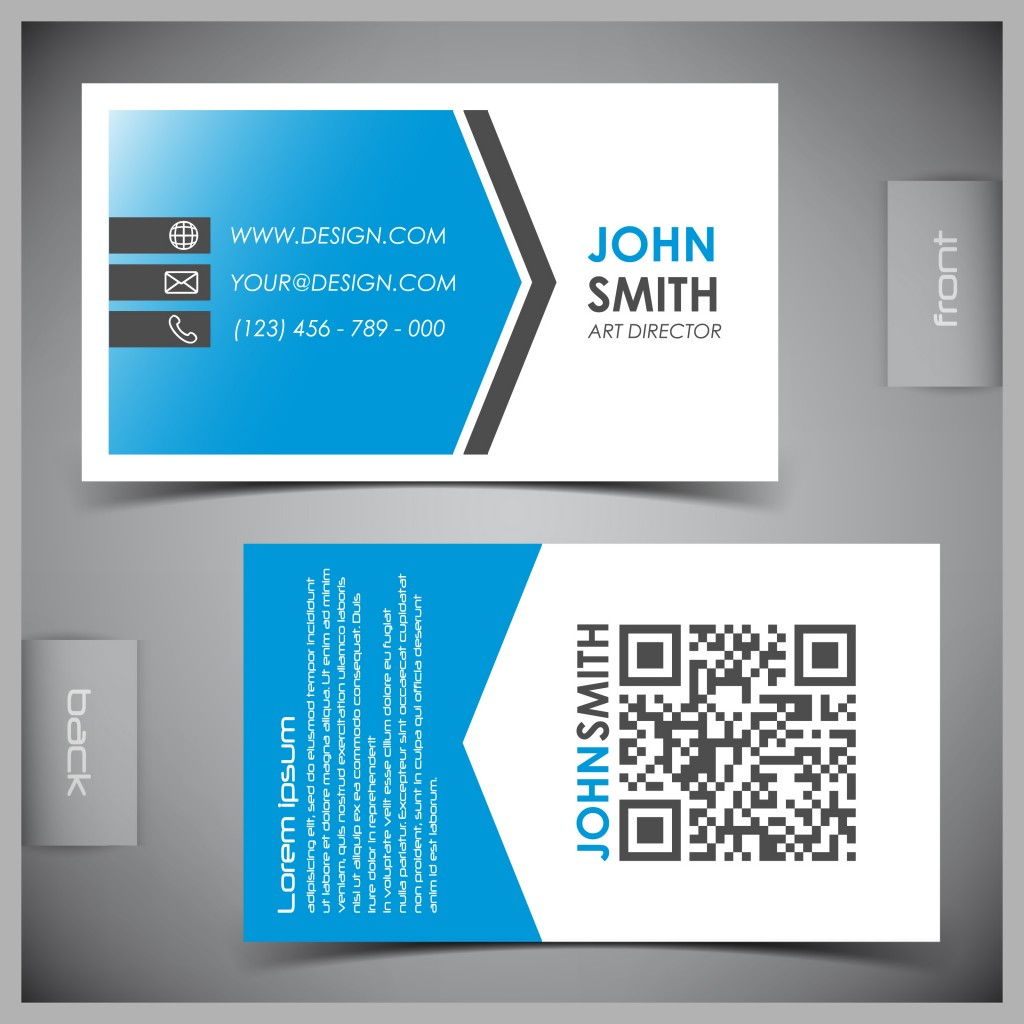Present business cards