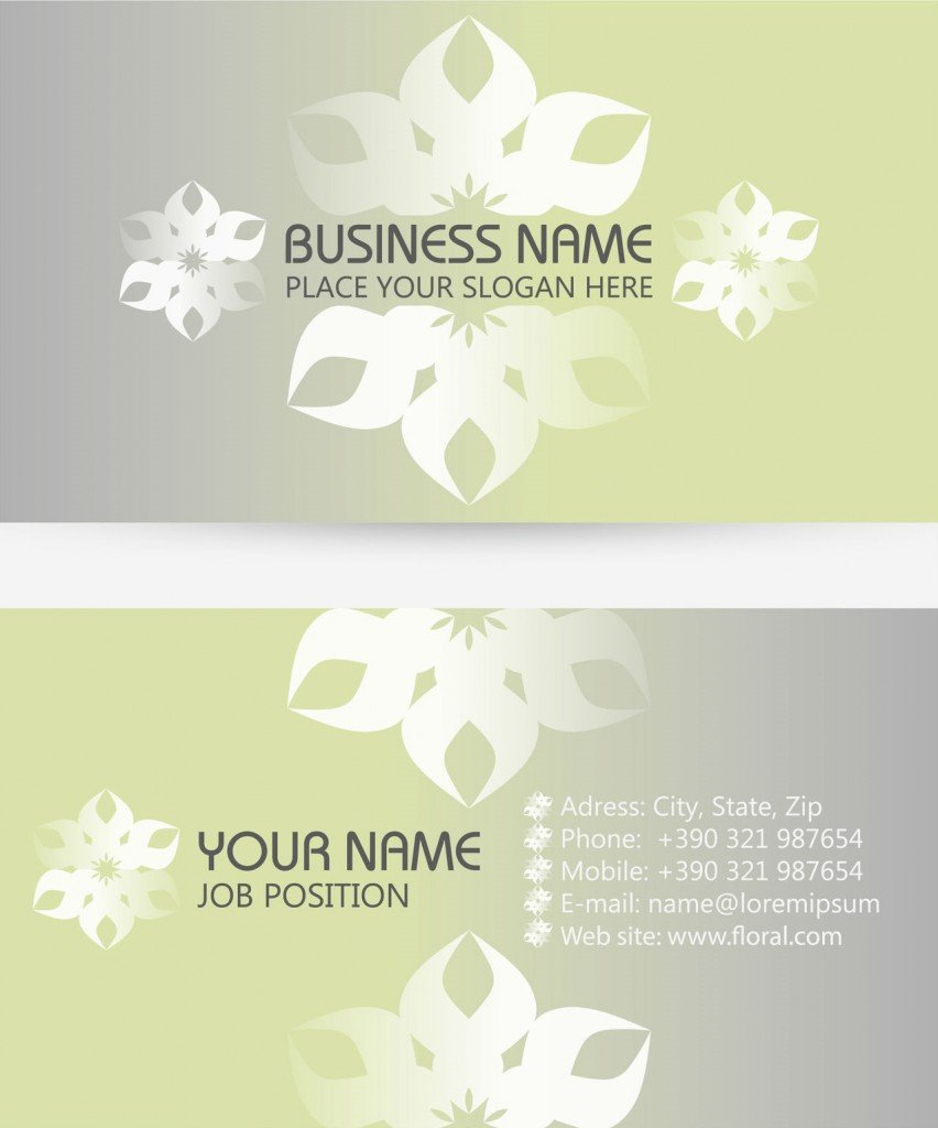 Print Ready Name Cards
