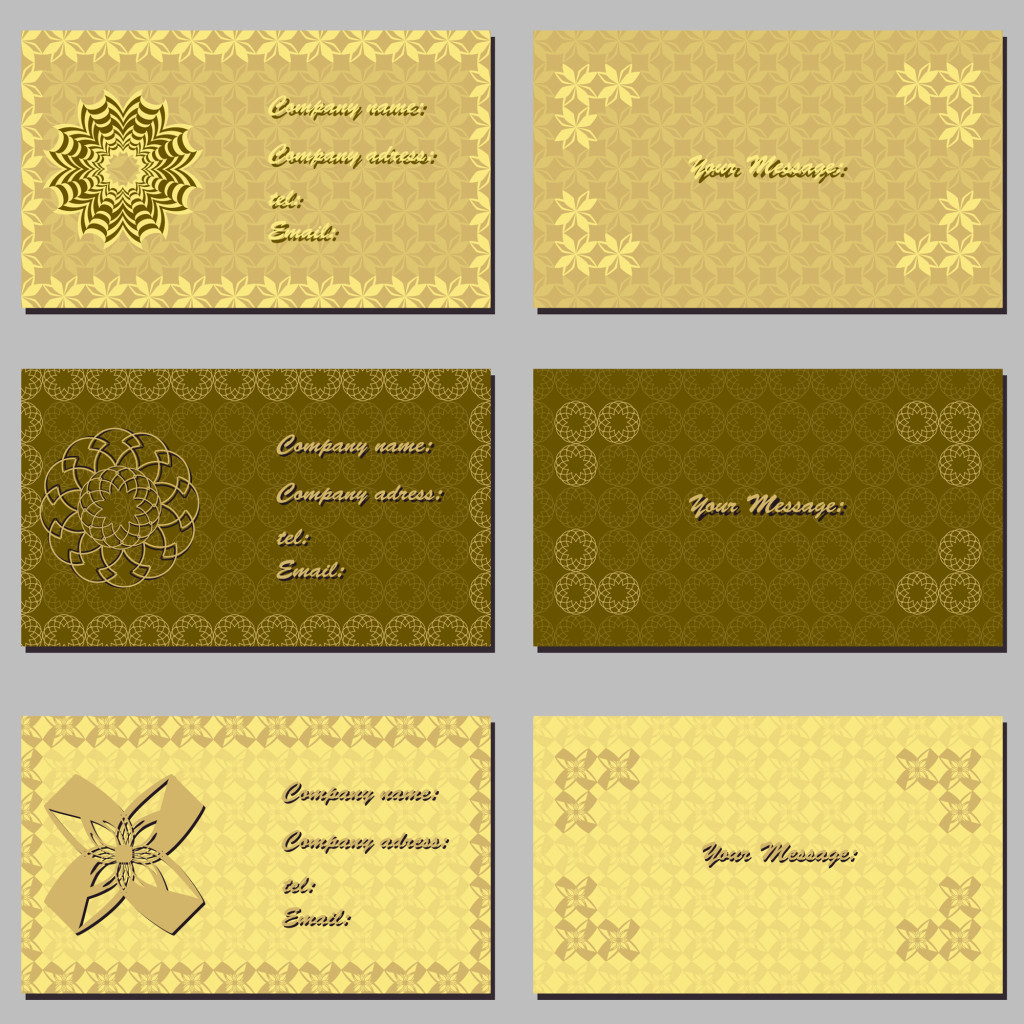 Types Of Name Card Printing Material