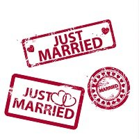 Best Wedding Rubber Stamp